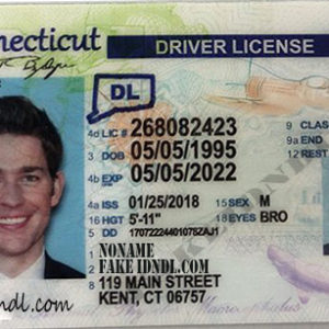 Connecticut Fake Driving License Card